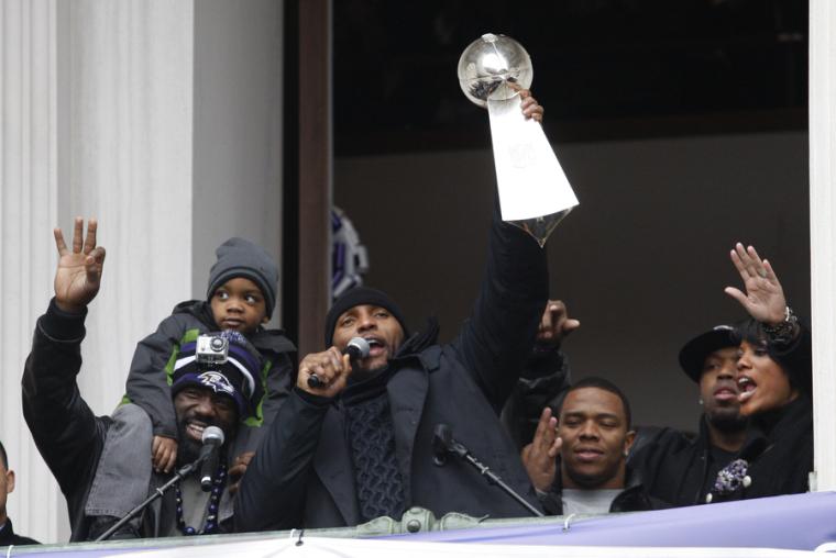 Ray Lewis Super Bowl Baltimore Ravens
