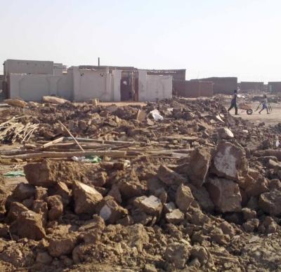 Sudan Church Ruins