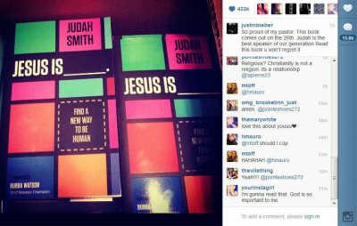 Justin Bieber 'Love Is' Instagram photo