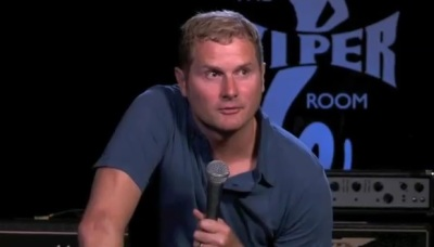 Rob Bell speaks at The Viper Room in Los Angeles in July 2012