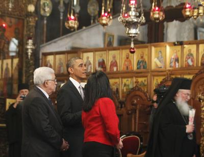 Barack Obama Church of Nativity