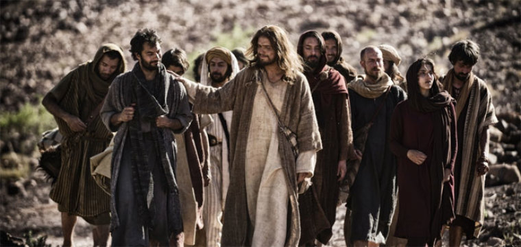 the bible jesus and disciples