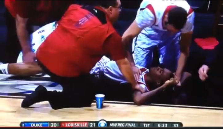 Kevin Ware Leg Video Goes Viral: Louisville Player Suffers