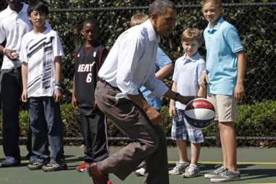 Barack Obama, Basketball