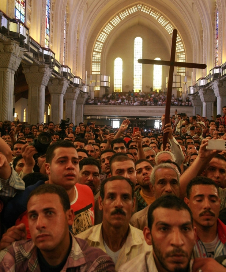 St. Mark's Coptic Orthodox Cathedral Egypt Copts