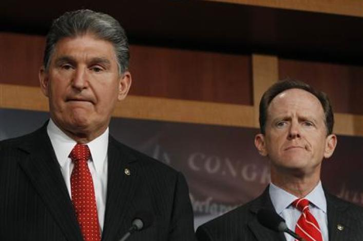 Pat Toomey and Joe Manchin