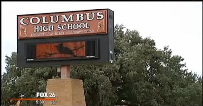 Columbus High School, Texas
