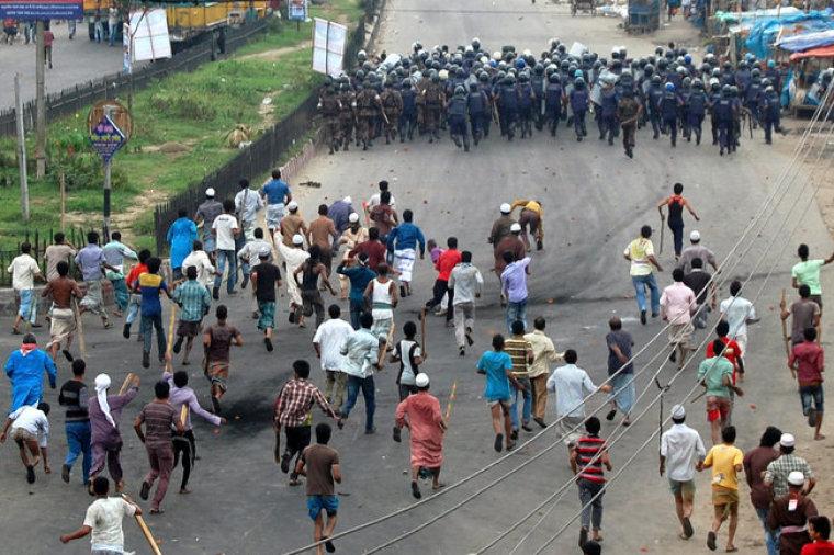 Bangaldesh Riots May 2013