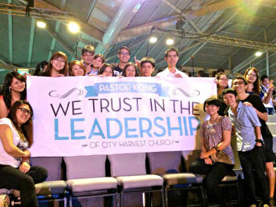 City Harvest Church Supporters