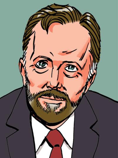 Paul de Vries portrait