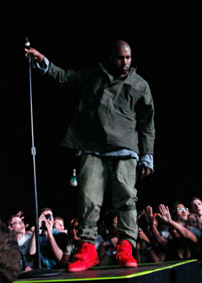 Kanye West at Governors Ball