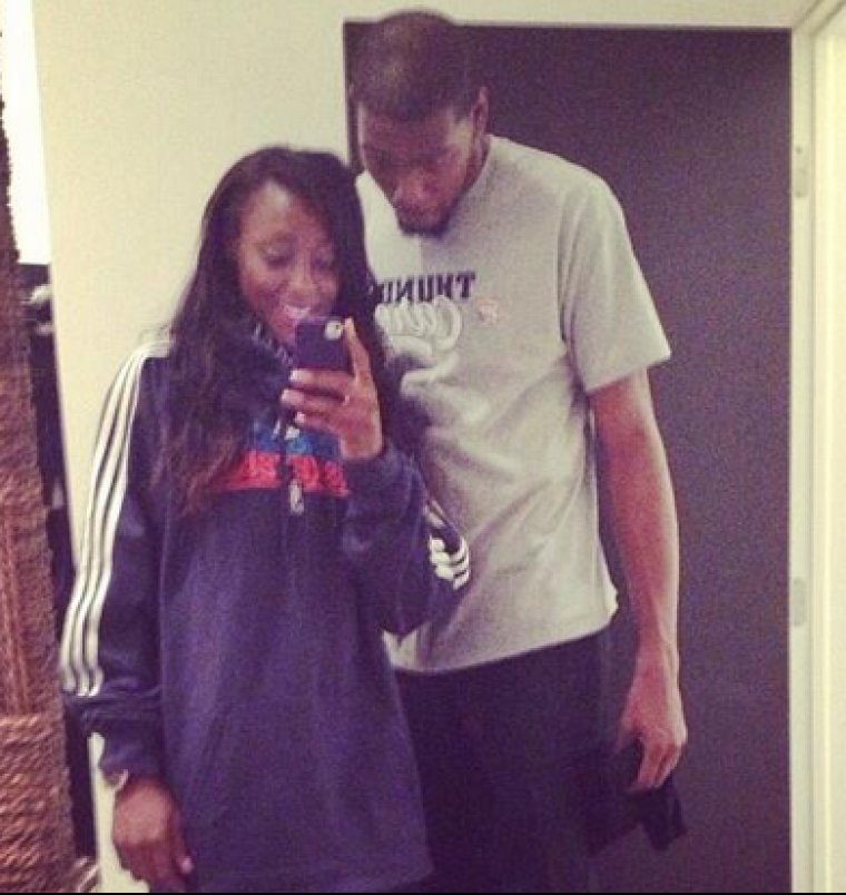 Kevin Durant, Monica Wright