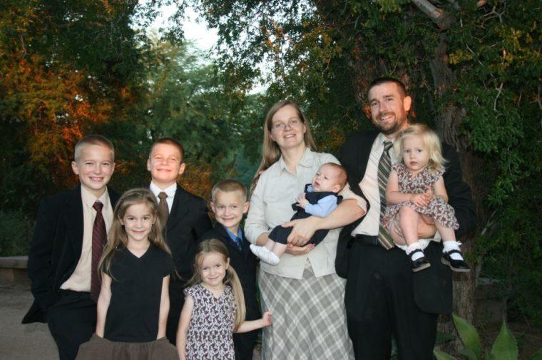 Steven Anderson Family Photo