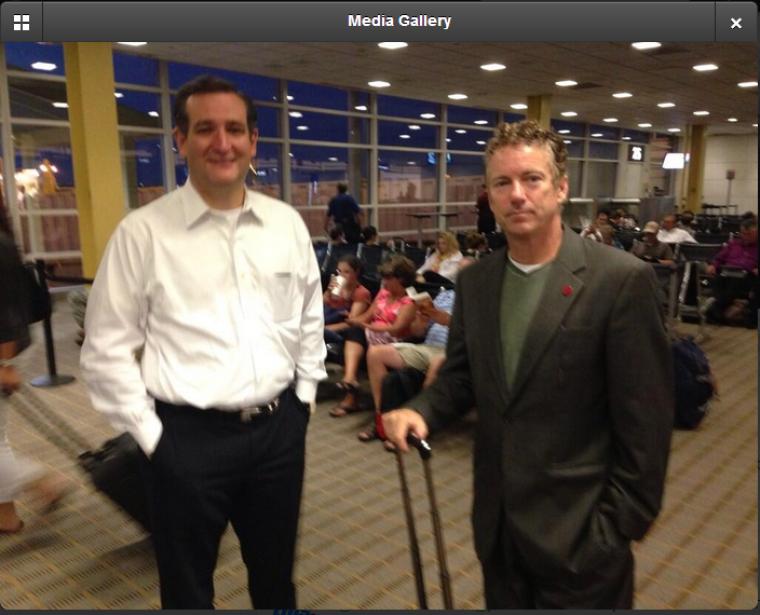 Ted Cruz, Rand Paul