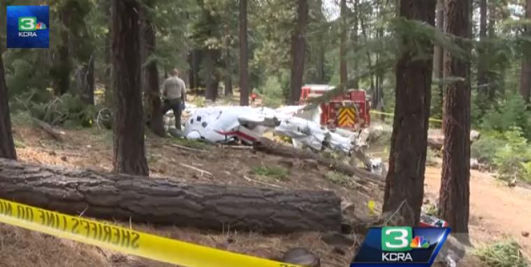 Tahoe plane crash