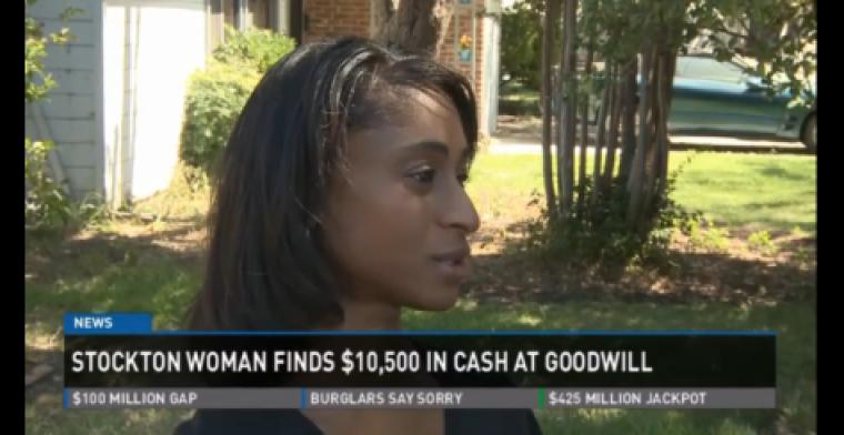 Goodwill worker ,000