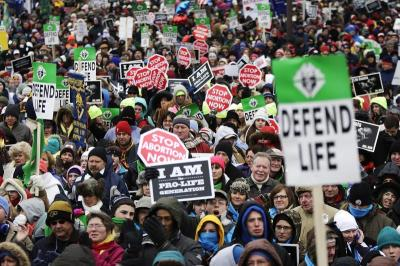 March for Life rally, April 2013