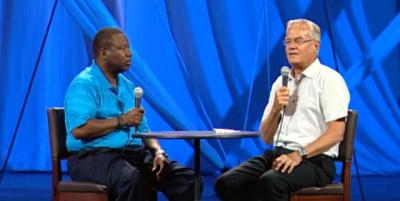 Pastors James Meeks and Bill Hybels