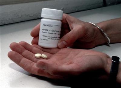 Abortion-inducing pill, mifepristone, RU-486