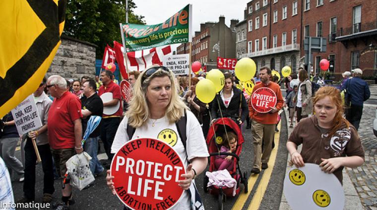 Pro-Life Rally in Ireland