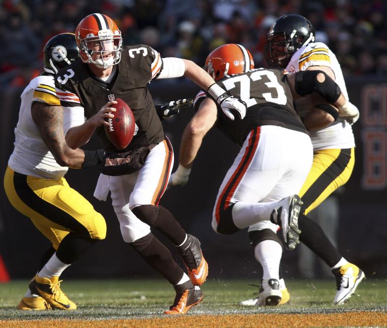 NFL Football Cleveland Browns Brandon Weedon