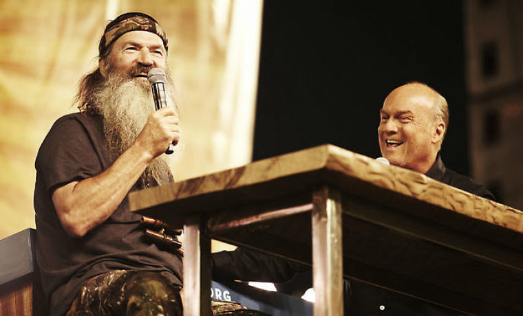 phil robertson greg laurie