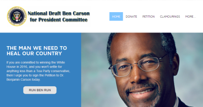 Ben Carson, Super PAC