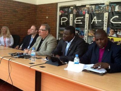 Pastor Rick Warren in Rwanda