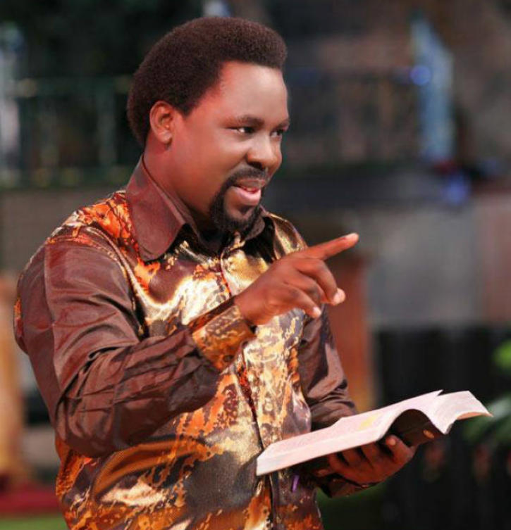 TB Joshua Announces Special 'New Anointing Water Service' in UK