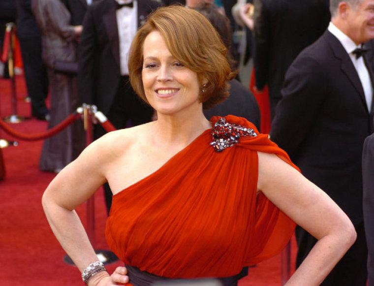 Actress Signourney Weaver