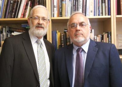 Rabbi's Abraham Cooper and Yitzchok Adlerstein