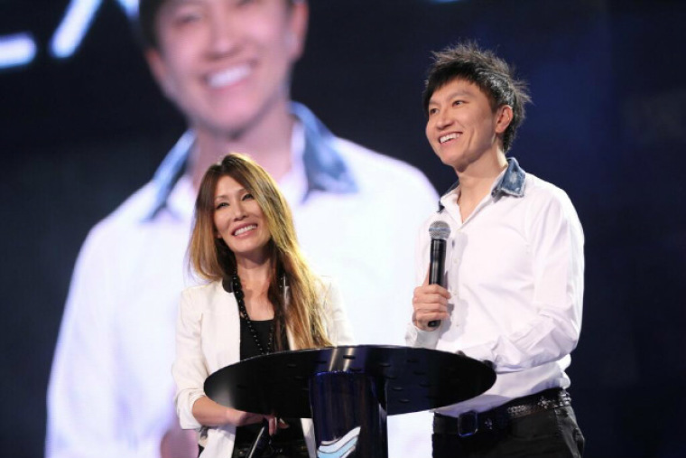 Sun Ho and Kong Hee