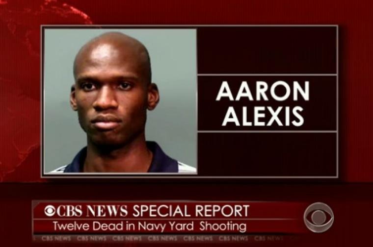Gunman Aaron Alexis, deceased