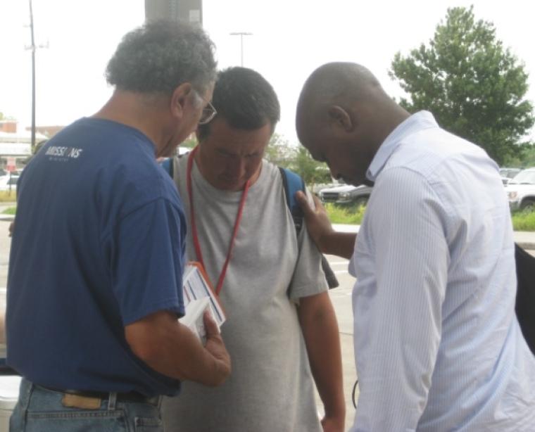 Lakewood Church volunteers