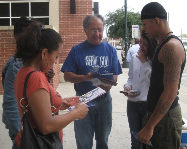 Lakewood Church volunteer