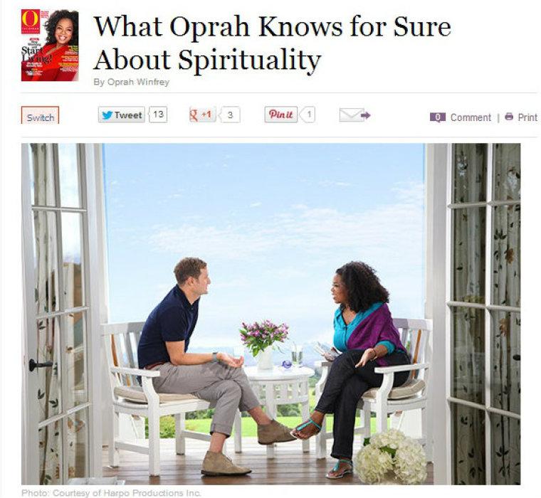 Rob Bell and Oprah Winfrey Talk