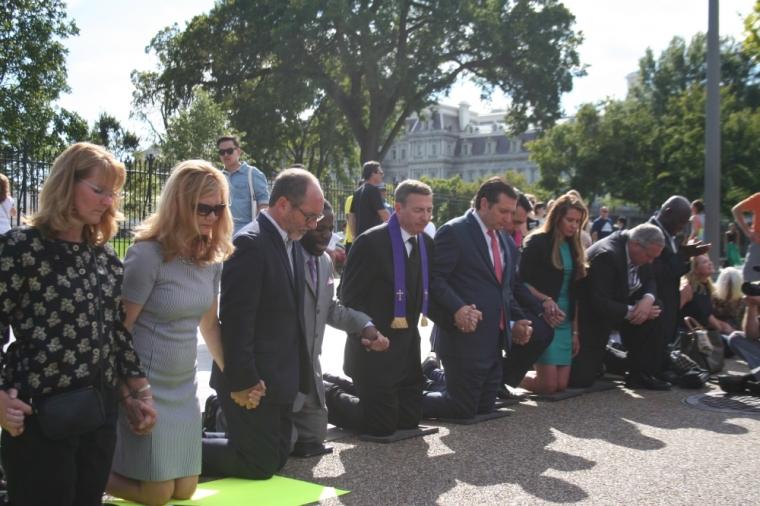 Abedini White House Prayer Line