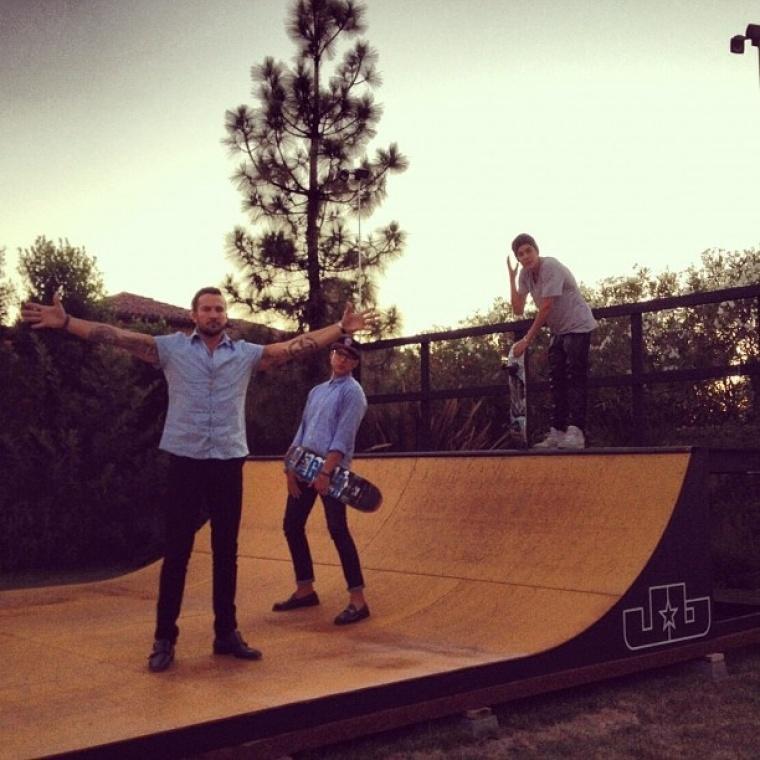 Carl Lentz, Judah Smith, Justin Bieber
