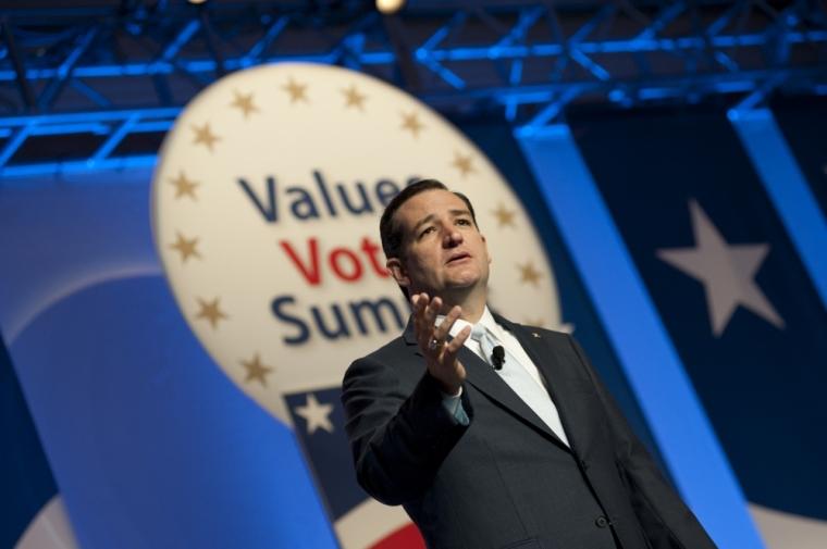 Senator Ted Cruz Values Voter 2013