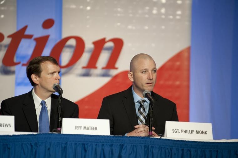 Jeff Mateer and Phillip Monk