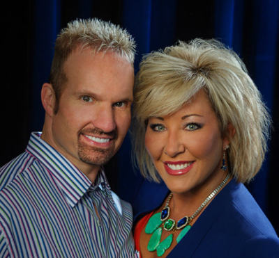 Pastor Ron Carpenter and Hope Carpenter