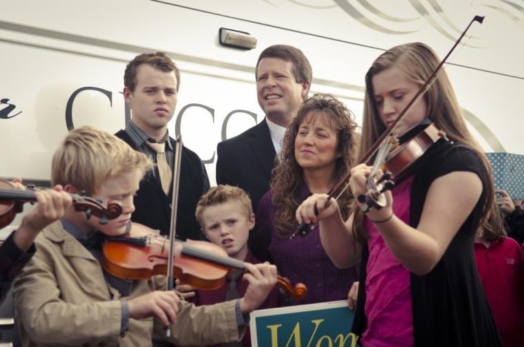 Jim Bob Duggar and Family