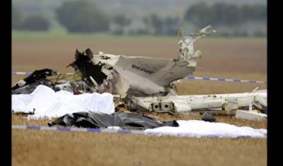 Parachute Plane Crash