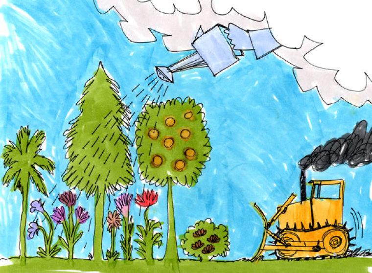 Are We Bulldozing God's Garden?