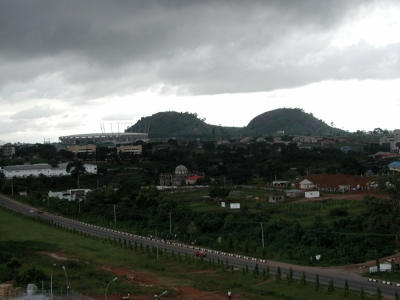 Abuja is Nigeria's capital city and and home to close to 100,000 residents.