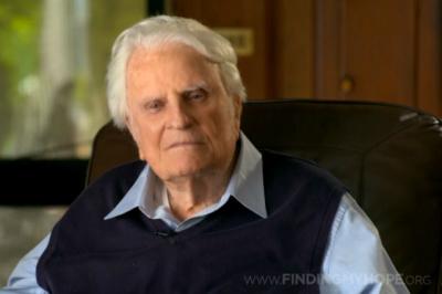 "Billy Graham ""The Cross"""