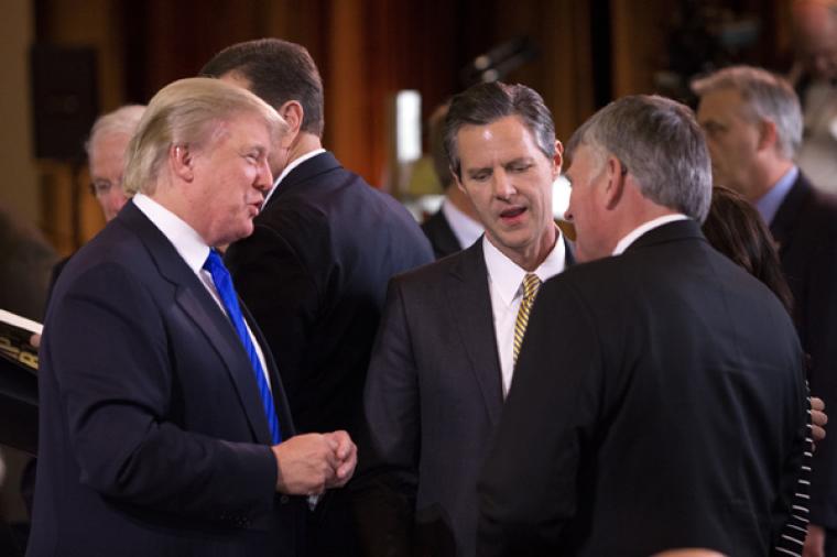 Billy Graham, Donald Trump