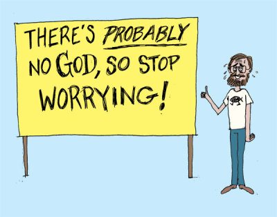 Feeling Relaxed Yet, Atheists?