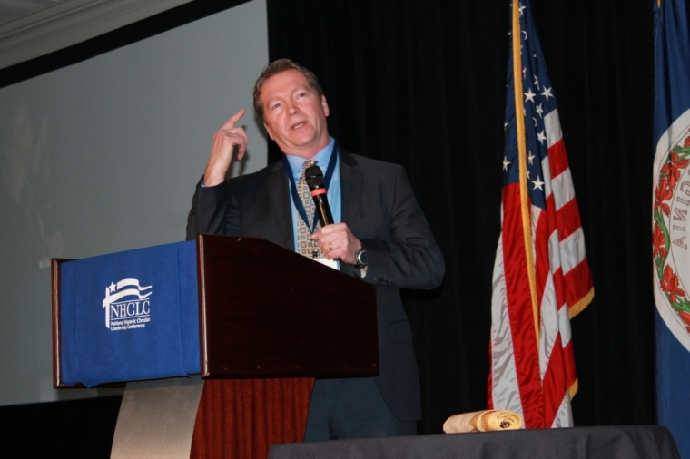 David Donaldson at the National Hispanic Christian Leadership Conference