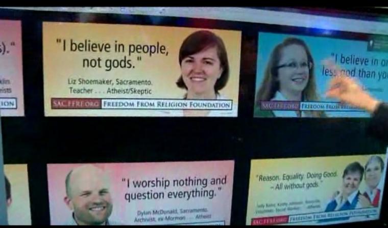 Sacramento Atheist Billboards